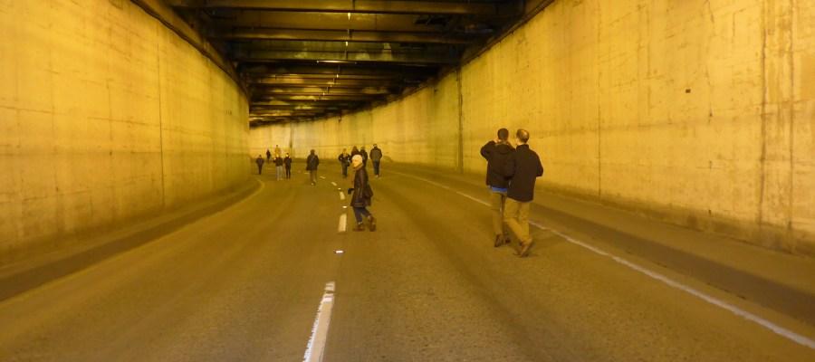 Battery Street Tunnel, built 1952, SR99, Belltown, Seattle