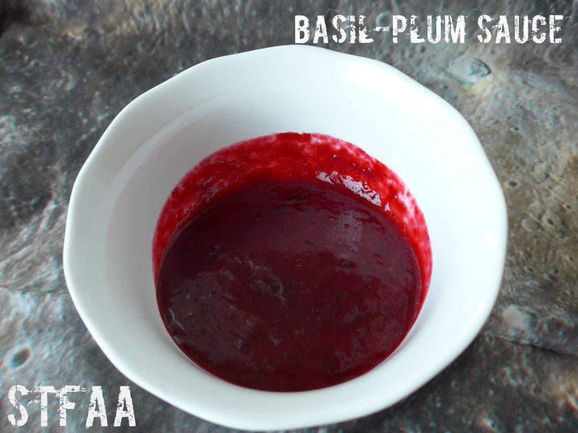 Basil-Plum Sauce