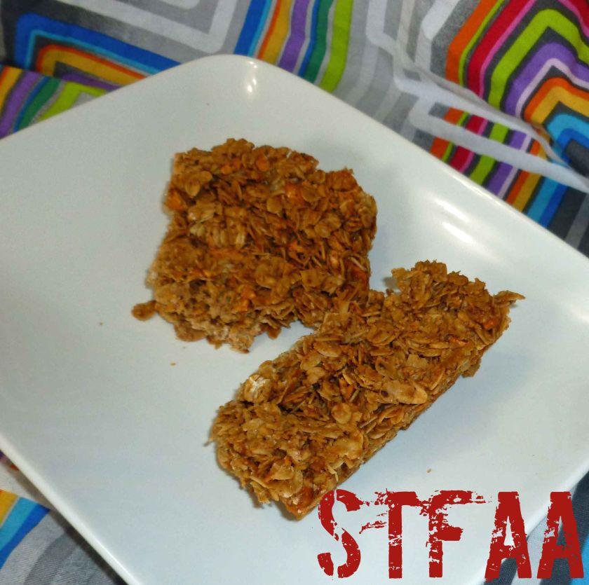 Chai Spiced Granola Bars
