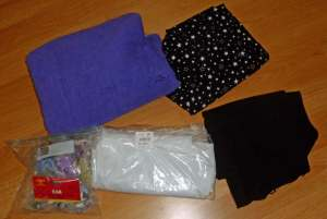 Fabrics and snap kit