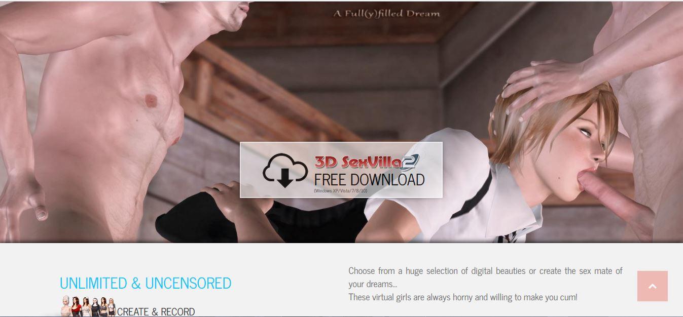 3d SexVilla best 3d adult game