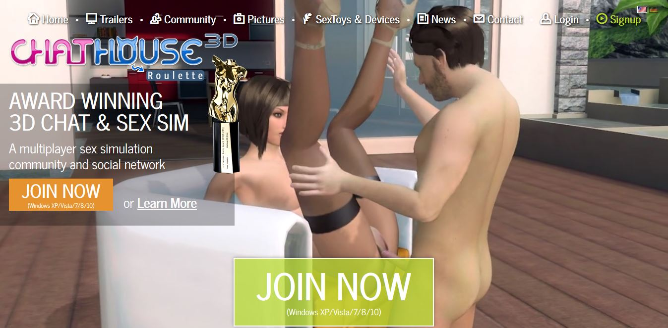 Multiplayer oral sex simulator