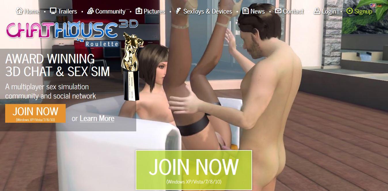 Chathouse 3d adult 3d game