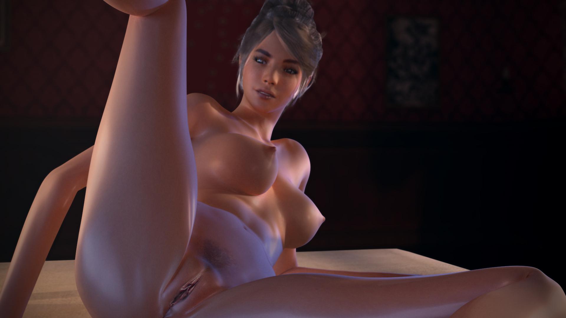 Sexy skinny big tits brunette Brunette