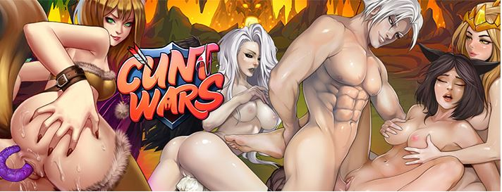 Cunt Wars the #1 Adult game on the Internet
