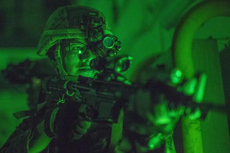 Troops Could Have Night Vision Injected Into Their Eyes