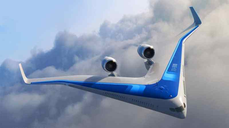 Engineers Test Jetliner Where You Ride in the Wings