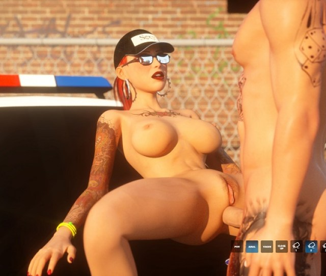 Porn Game Girl Fucked On Cop Car