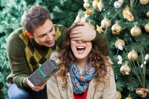 winter gift girlfriend surprise