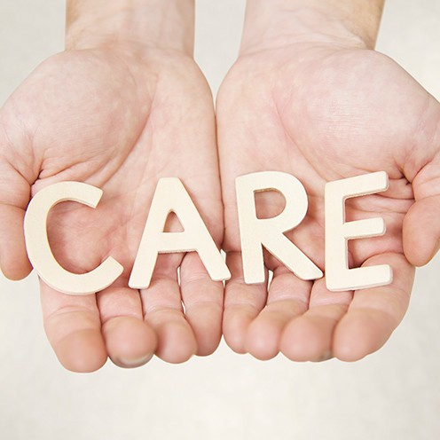 care gentle hands