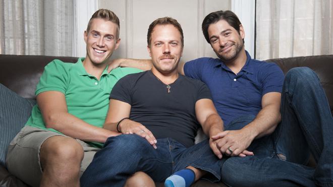 Three Gay Males