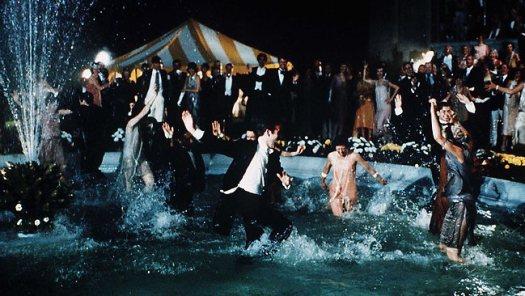 classy fountain party