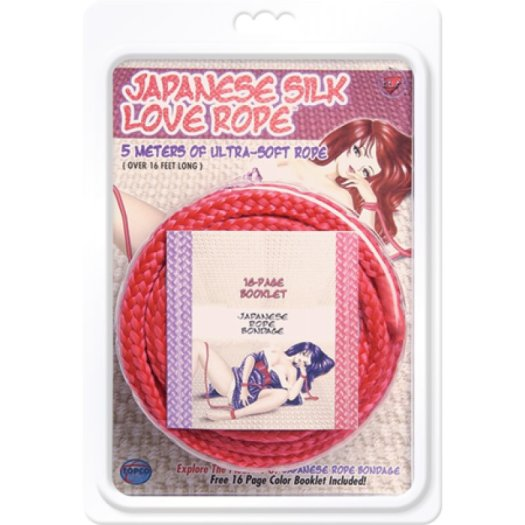 Japanese Silk Love Rope Bondage