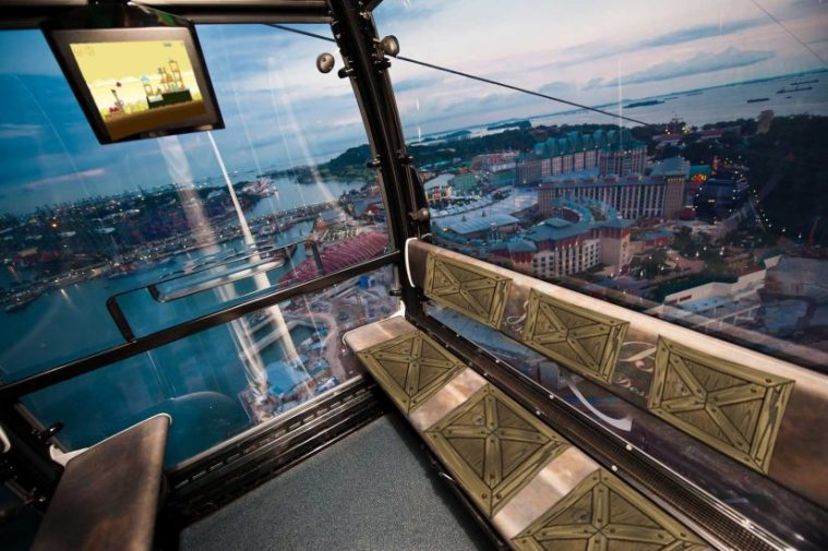 Cable Car Singapore Oral Job