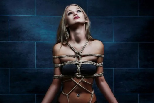 Breast Rope Bondage
