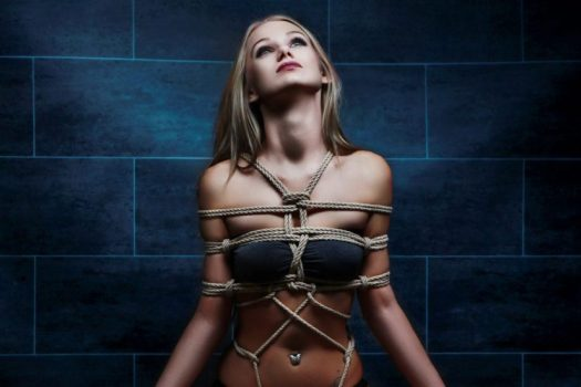 Breast Rope Bondage