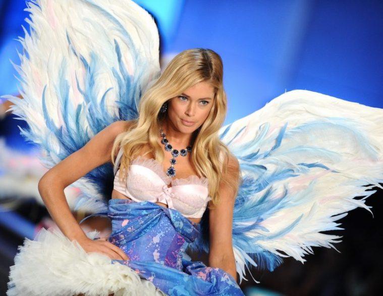 Blue Victoria Secret Angels Runway