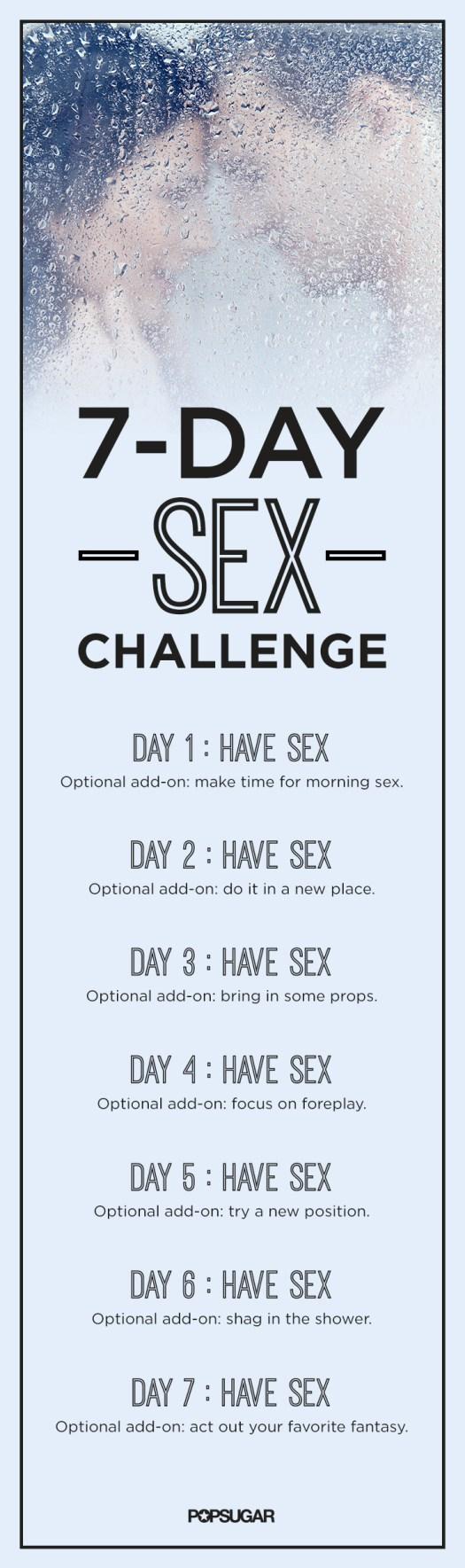 Weekly Sex Challenge