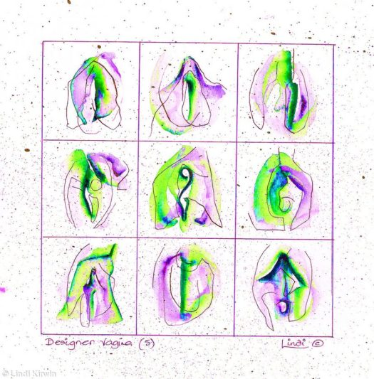 Vagina Painting