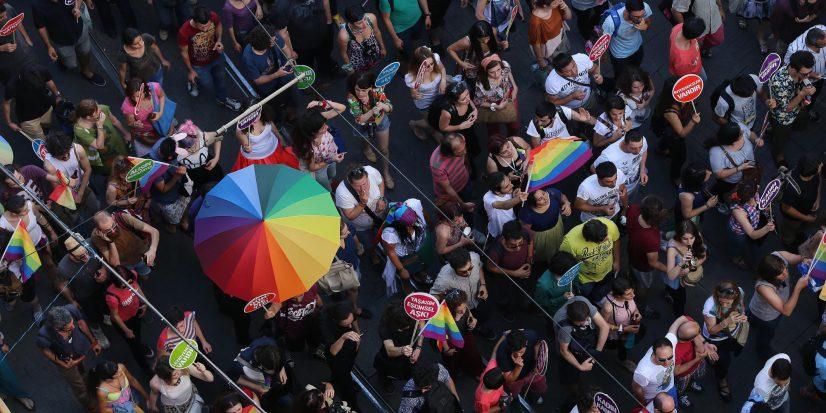 Istanbul Gay Pride Celebration
