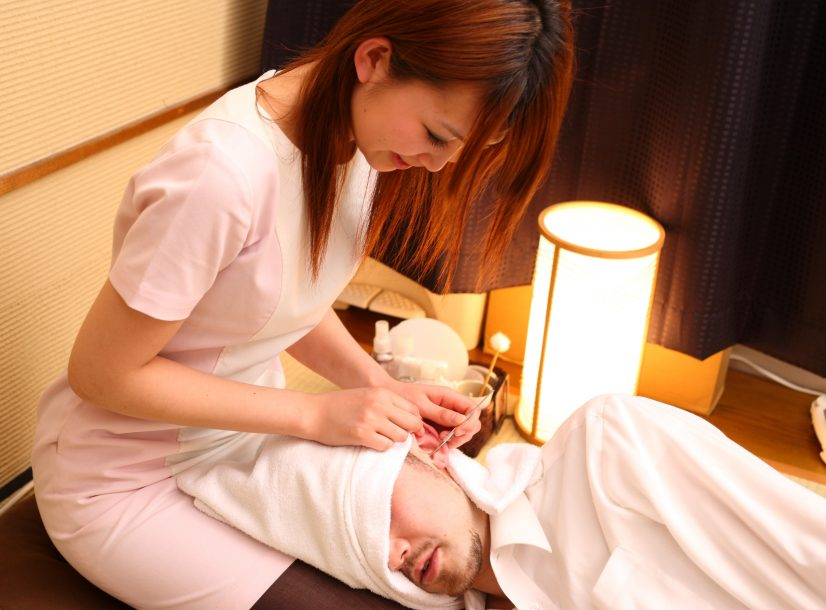 Japanese Ear Cleaning Fetish Photo