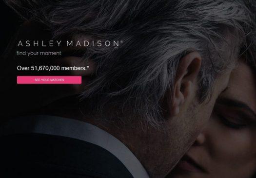 Current Ashley Madison Website Photo