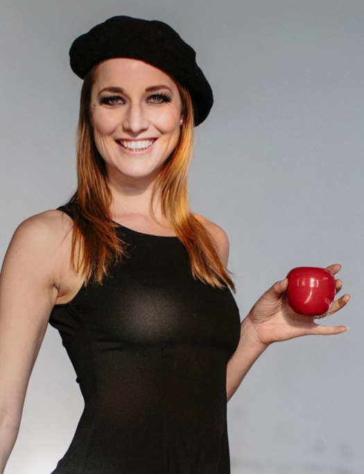 Rianne S with Forbidden Fruit Sex Toy Photo