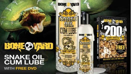 Boneyard Toys Snake Oil Cum Lube Image