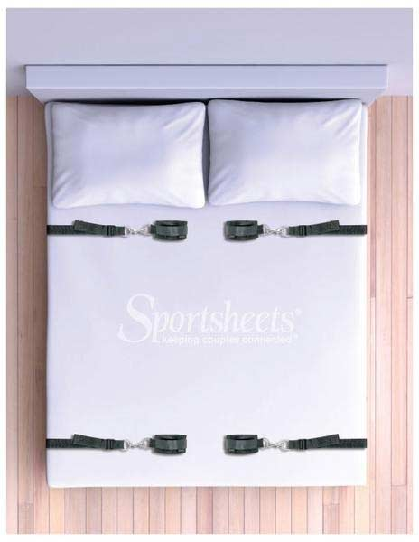 Under the Bed Restraint System Made With Velcro By Sportsheets