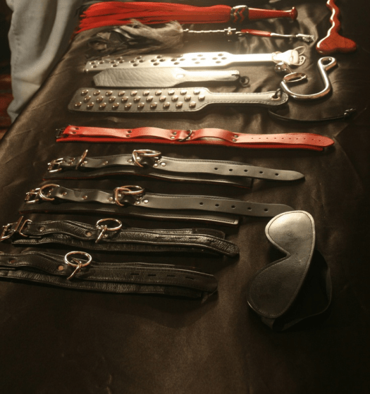 A Selection Of Bondage Gear