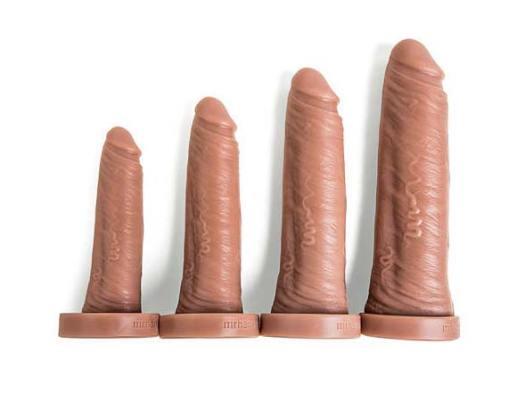 Size Range Of Big Daddy By Mr Hankey Toys