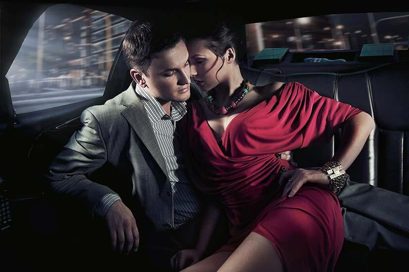 Pheromones working on woman
