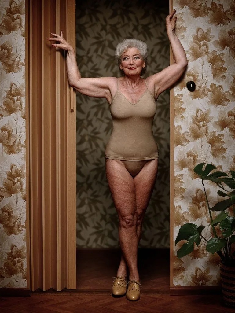 Sexy Granny In Lingerie