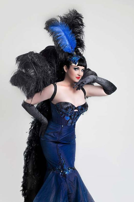 Adult performer from Bombshell Burlesque