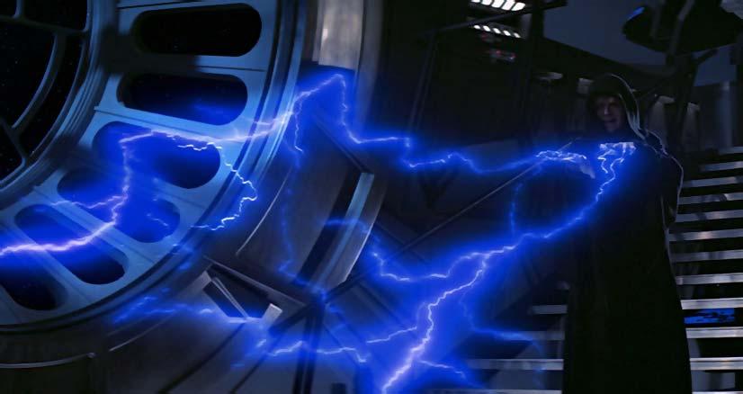 Erotic electrostimulation with star wars