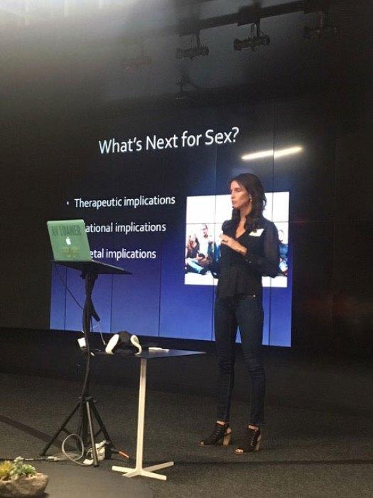 VR sex toy techology slideshow