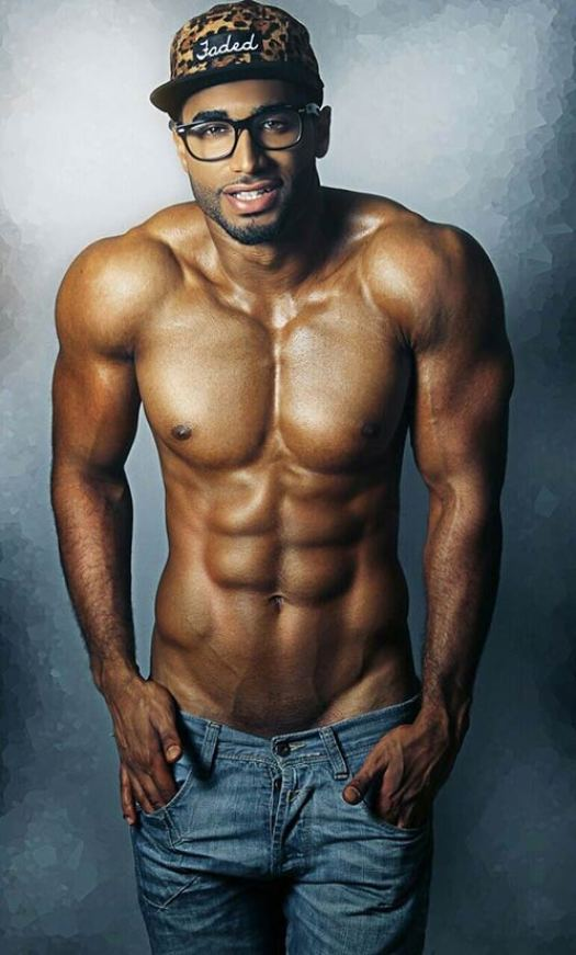 Sexy man who is black