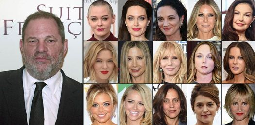 Sexual assaults victims of Harvey Weinstein