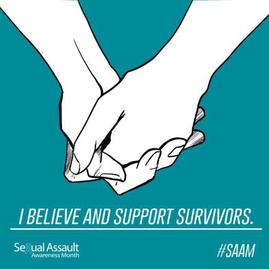 Support survivors of rape