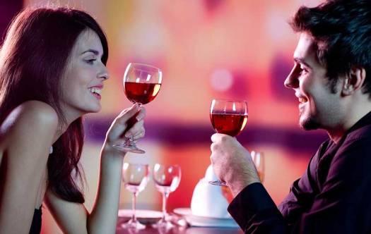 Valentine's restaurant date
