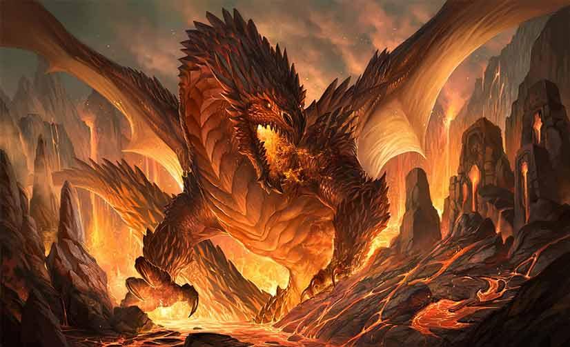 Sexual fantasy of a bad dragon