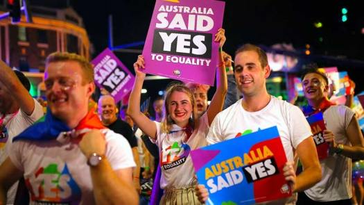 LGBTQIA+ marriage equality passed