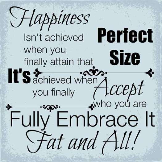 Quote on body size acceptance