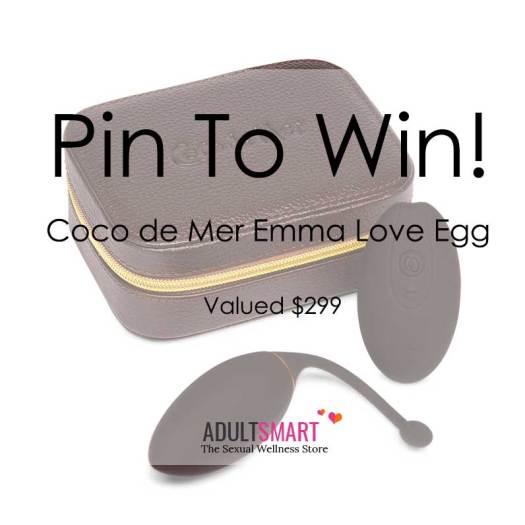 Instagram giveaway Coco de Mer Emma Love Egg