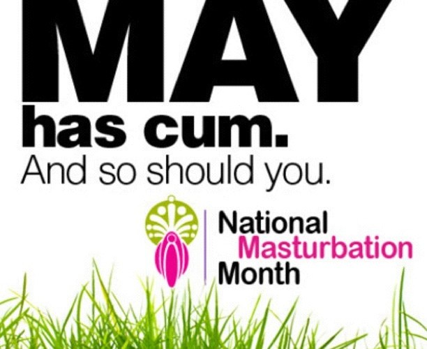 Masturbation Month May
