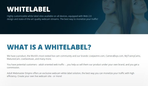 LiveJasmin whitelabel