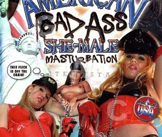 Dvd American Bad Ass She Male Masturbation