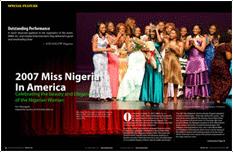 2007 Miss NIgeria In America