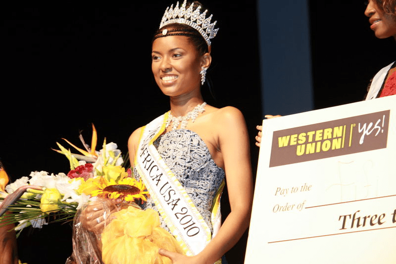Miss Africa USA 2010 Winner Fifi Souma.