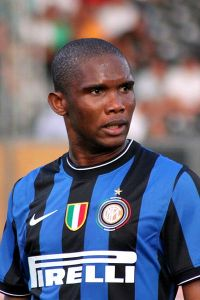 Samuel Eto'o named 2010 African Player of the Year